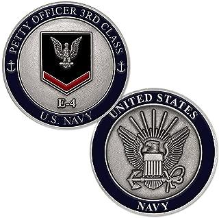U.S. Navy Petty Officer Third Class E-4 Challenge Coin