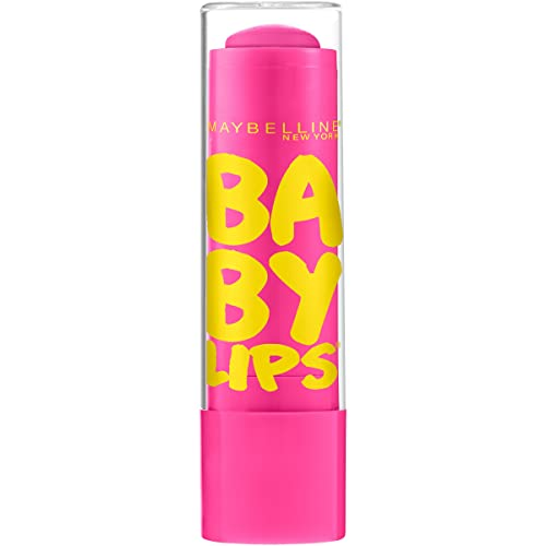 Maybelline Baby Lips Moisturizing Lip Balm, Pink Punch, 4g