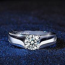 2021 klassieke heren925 sterling zilveren ring diamanten sieraden voor mannen, geschenken voor mannen Uxury sieraden