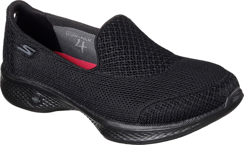 Skechers damen damen GOwalk 4 Propel Walking schuhe,schwarz,US 7.5 W  erste Antwort