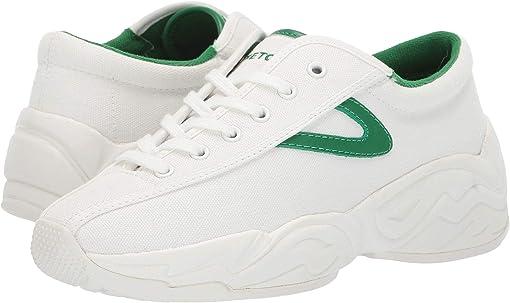 Vintage White/Green