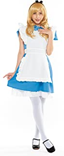 Teen Alice Costume Enchanted Alice in Wonderland Teen Costume Disney Outfit 6-10