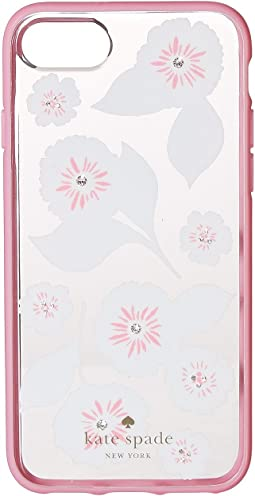 Kate Spade New York - Jeweled Swinging Floral Phone Case for iPhone® 7/iPhone® 8