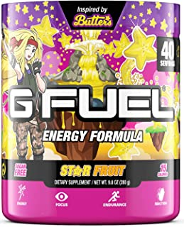 G Fuel Butter's Star Fruit (40 Servings) Elite Energy and Endurance Formula 9.8 oz.