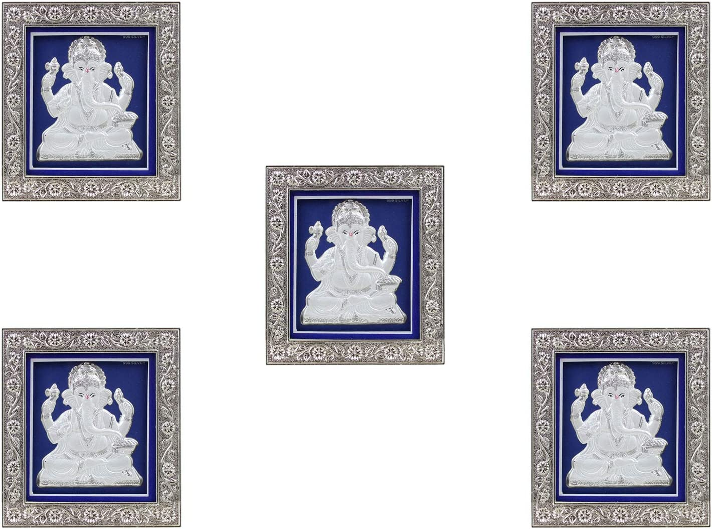 Our shop OFFers the best service GoldGiftIdeas Pure 999 Silver Ganesha Photo Pooja Sale Frame Ret for