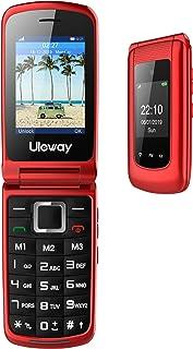 3G Cellulare per Anzian Telefono per Anziani a Conchiglia, Tasti Grandi,2.4'' Display,Dual SIM Volume Alto,Funzione SOS, D...