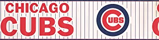 Wallpaper Border - Chicago Cubs Sports Prepasted Wall Border 3317 ZB