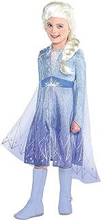 Elsa Act 2 Halloween Costume for Girls, Frozen 2, Includes Dress