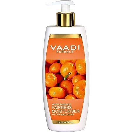 Vaadi Herbals Fairness Moisturiser With Mandarin Extract, 350 Ml