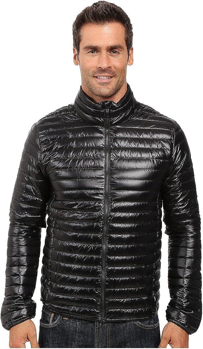 adidas Outdoor Men's super Light Weight Down Jacket, Black, XX-Large