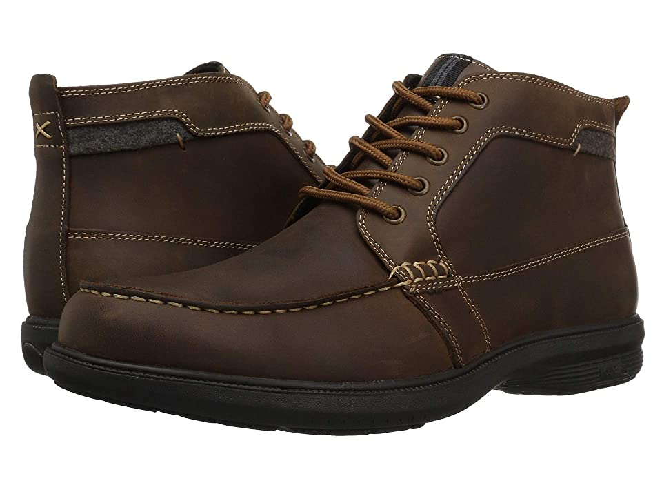 Nunn Bush Marley St. Moc Toe Boot (Tan) Men
