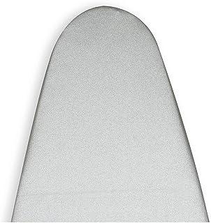 Encasa Homes metalizowany pokrowiec na deskę do prasowania 'srebrny super z pianką filcową PAD (pasuje do szerokich desek ...
