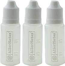 3 Pack of Travel Size, Mini Meds Bottles for Liquid Medicines