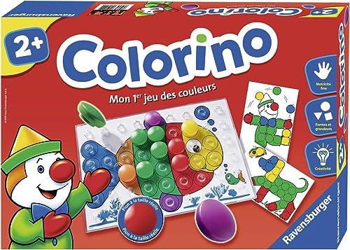 Ravensburger - Colorino - Jeu Educatif - Mon 1er jeu des couleurs- A partir de 2 ans- 24011 - 1 joueur ou plus