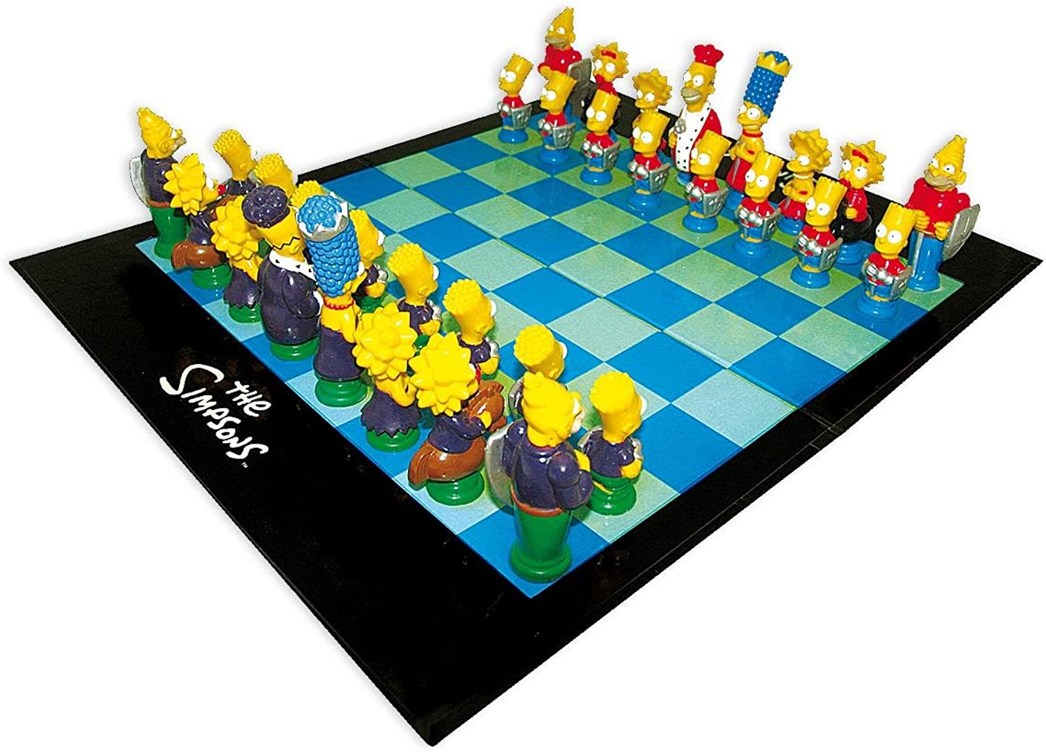 The Simpsons Chess   Schach