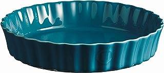 Emile Henry Pie Dish, 29 cm, Blue