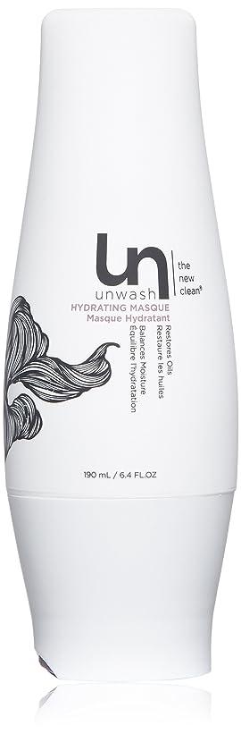 食用失放置unwash Unwashハイド仮面ヘアトリートメント:プロフェッショナルディープコンディショニングクリーム水分補給マスク、 6.4オンス 白