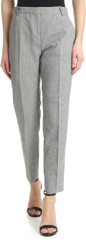 PINKO Women's 1G141T7366ZD7 Grey Acetate Pants