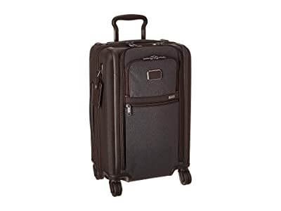Tumi Alpha 3 International Dual Access 4 Wheeled Carry-On (Anthracite) Luggage