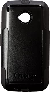 Otter Products Commuter Case for Moto E 2nd Gen/4G LTE - Retail Packaging - Black (Black/Black)