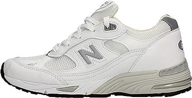 New Balance 991 Scarpa Sneakers Bianca da Donna