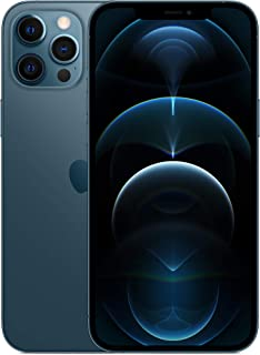 Apple iPhone 12 Pro Max with Face Time - 256GB, 5G, Pacific Blue