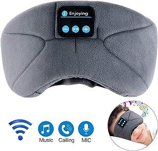 アイマスク 安眠 Bluetooth5.0【強化版】アイマスク 睡眠 音楽 アイマスク 遮光 3D立体 USB充電式 昼寝 圧迫感なし快眠 旅行 疲労回復 失眠対策 快眠グッズ