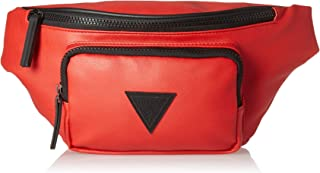 guess fanny pack red