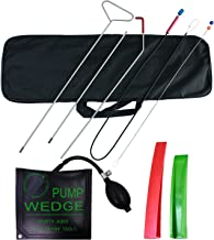 SUNTUE Essential Kit with Long Reach Grabber,Air Pump Bag,Non Marring Wedges,Professional Tools for Car and Truck