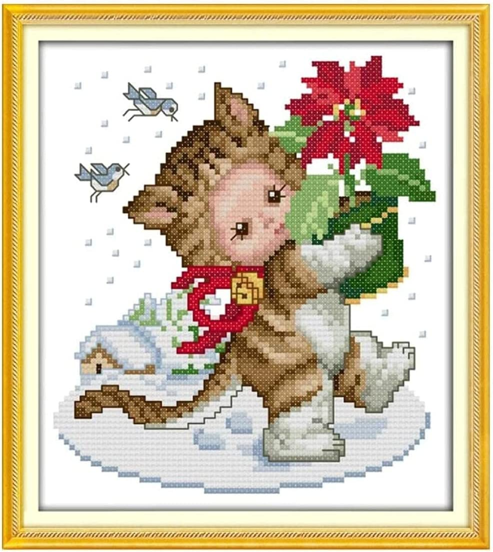 Yxsmcyht Stamped Cross Max 81% Ranking TOP19 OFF Stitch Kits - C Adults Kids for Beginner