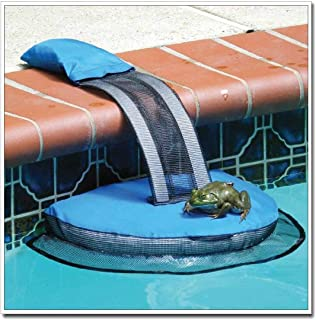 Animal Saving Rescue Escape Ramp for Pool, Swimming Pool Slide Accessories Suitable for Critter Duck Frog Turtle Chipmunk Pet and More (1PC)