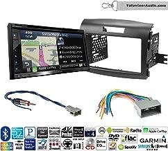 Volunteer Audio Kenwood DNX574S Double Din Radio Install Kit with GPS Navigation Apple CarPlay Android Auto Fits 2012-2016 Honda CR-V