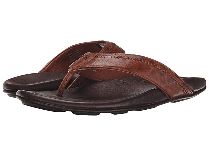 Hiapo  Shoes (Rum/Dark Java) Men's Sandals
