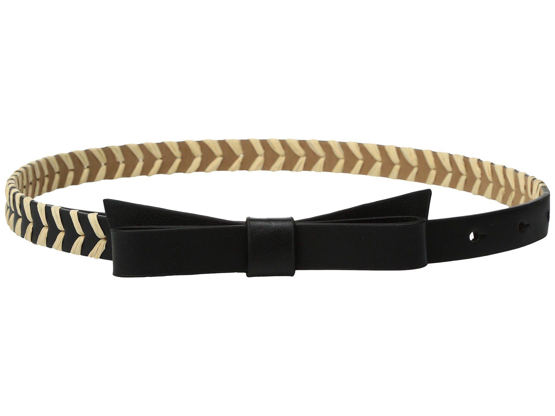 "Correa o Cinturon para Mujer Kate Spade New York 5/8"" Calf Bow Belt w/ Straw Detail  + Kate Spade New York en VeoyCompro.net"