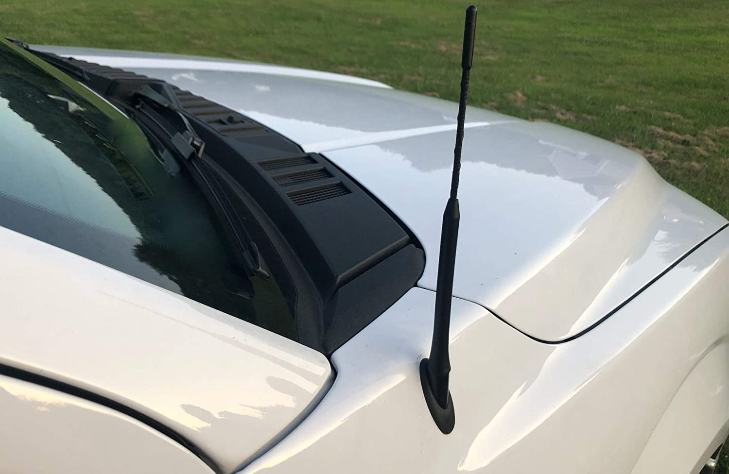 Kansas City Mall 9 Inch Antenna excellence Mast Black for and Trucks GM Cars New