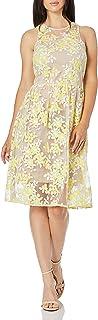 فستان Arroyo Tea طويل من الدانتيل للنساء من ترينا ترينا ترك
