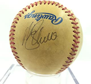 Mike Schmidt Lance Parish Signed Game Used 1980 All Star Game Baseball JSA