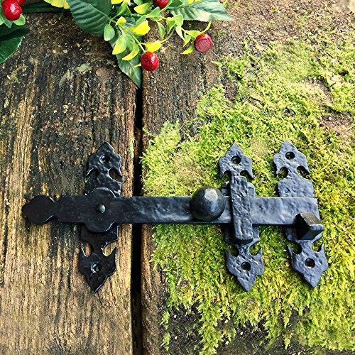 Antikas - Torriegel für Gartentor Überwurf Riegel antik - Überwurfriegel Tore Fallriegel