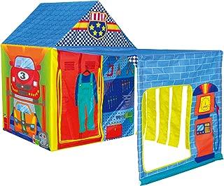 POCO DIVO Super Garage Play Tent Kids Pretend Mechanic Playhouse