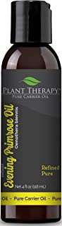 Plant Therapy Evening Primrose Carrier Oil. A Base Oil for Aromatherapy, Essential Oil or Massage use. 4 oz.