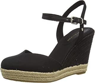 Tommy Hilfiger Basic Closed Toe High Wedge, Sandales Bout Ouvert Femme