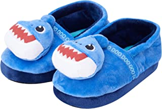 Nickelodeon Toddler Boys' Slippers - Baby Shark Plush House Shoes
