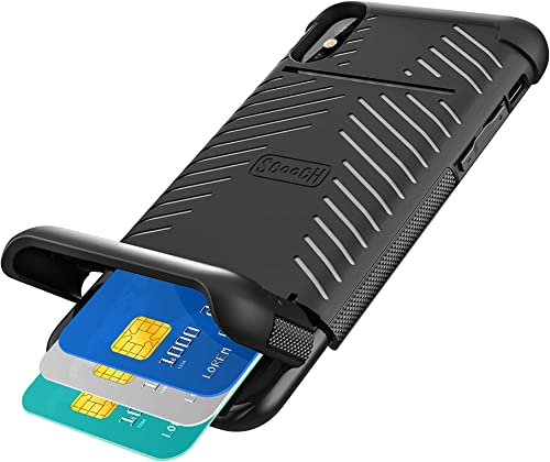 high quality Scooch 2021 Wingmate iPhone Xs discount Max Wallet Case (Stone) outlet sale