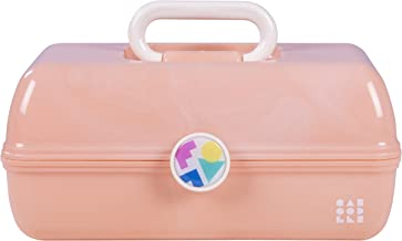 Caboodles On-the-Go Girl Peach Marble Vintage Case, 1 Pound
