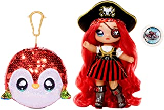 Na! Na! Na! Surprise 573999EUC 2-In-1 Pom Doll, Sparkle Parrot For Sidekick 573999Euc