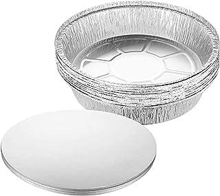 Jixista Teglie USA e Getta in Alluminio Vaschette Alluminio Teglie USA e Getta Vassoi di Alluminio Contenitori da Cucina d...