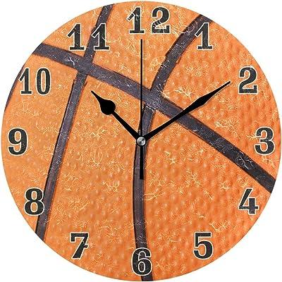 TFA Reloj de Pared, Rojo, 33x33x4 cm: Amazon.es: Hogar