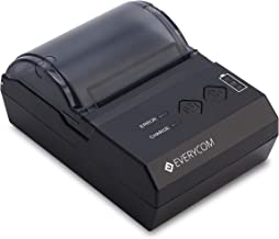 Everycom Bluetooth EC-200 Thermal Receipt Printer Compatible for Android and Windows Devices (1 Year Warranty)