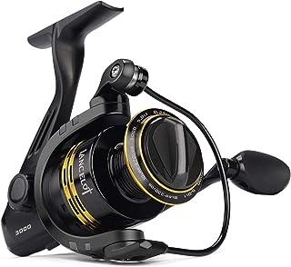 KastKing Lancelot Spinning Reel, Freshwater Fishing Reel, 5+1 Steel Ball Bearings, Up to 17.5lbs of Smooth Drag, High-Capa...