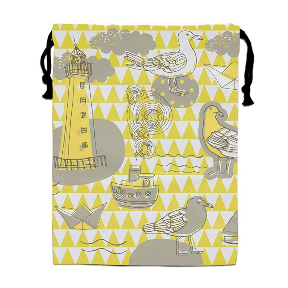 Large Size Scrapbook Background Sketches Drawstring Bag, Party Favor Bag, Overnight Bag umxhll1722025